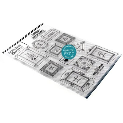Florilèges Design - Estampes claires  «Collection très spéciale» 22 pièces