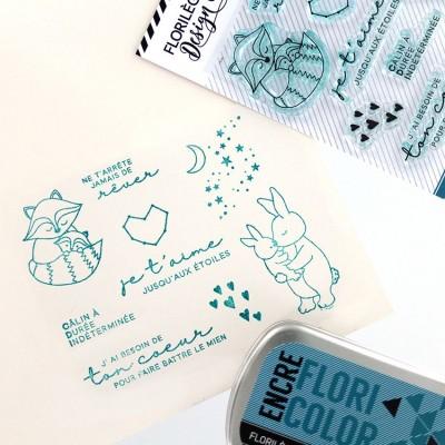 Florilèges Design - Estampes claires  «Jusqu'aux étoiles» 9 pièces