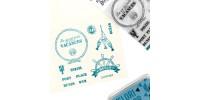 Florilèges Design - Estampes claires  «En mode vacances» 14 pièces