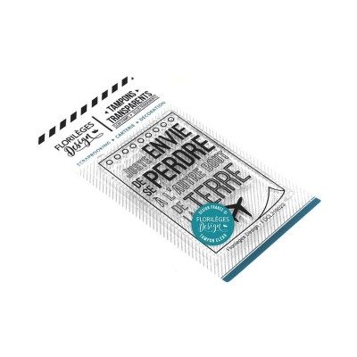 Florilèges Design - Estampes claires  «Se perdre» 1 pièces