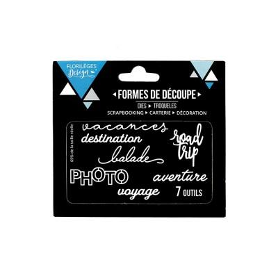 Florilèges Design - Outils De Découpe «Photo» 7 pièces