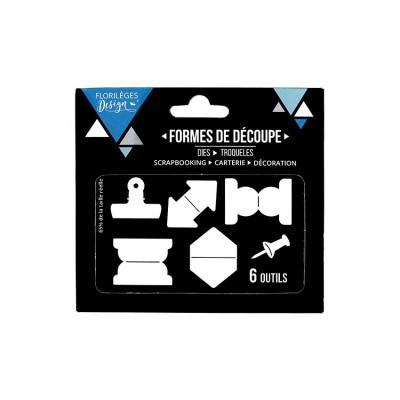 Florilèges Design - Outils De Découpe «Onglets» 6 pièces