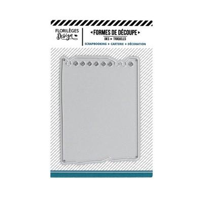 Florilèges Design - Outils De Découpe «Feuille de carnet»