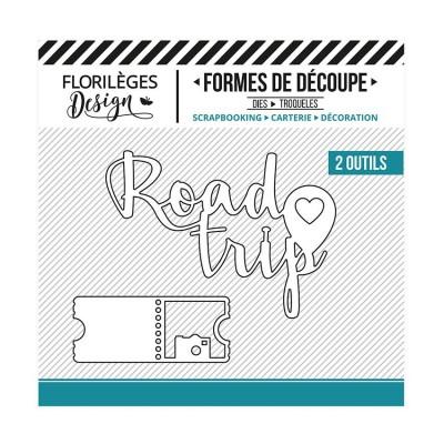 Florilèges Design - Outils De Découpe «Road Trip» 2 pièces