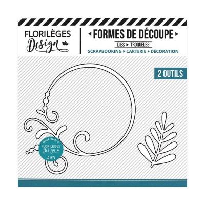 Florilèges Design - Outils De Découpe «Cercle Embelli» 2 pièces