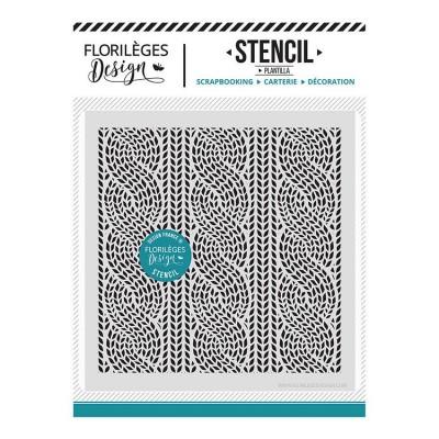 Florilèges Design - Pochoir modèle «Lainage»