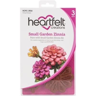Heartfelt Creations - Estampes «Small Zinnia» 4 pièces