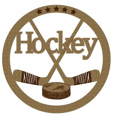 Creative Embellishments - Chipboard  «Hockey»