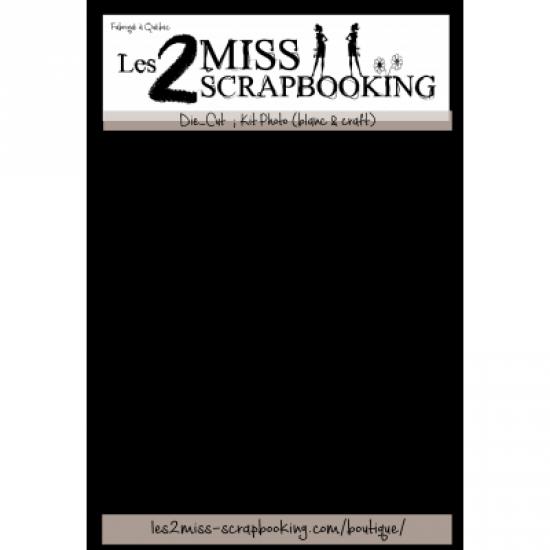Les 2 Miss scrapbooking - Éphéméra «Kit Photo»