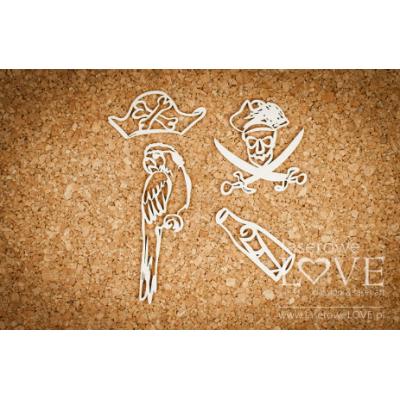 Laserowe - Chipboard «Ocean Adventure» LA171368