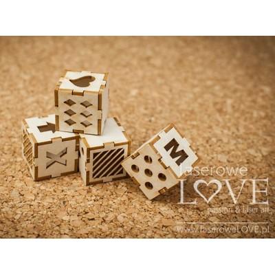 Laserowe - Chipboard «Cubes» LA18513