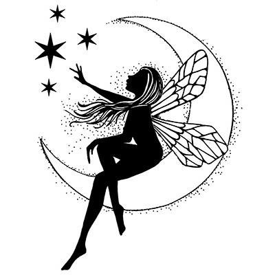 Lavinia - Estampe «Moon Fairy»