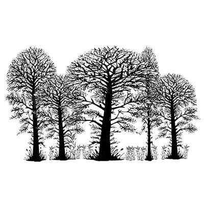 Lavania - Estampe «Trees»