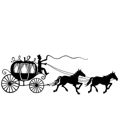 Lavinia - Estampe «Horse & Carriage»