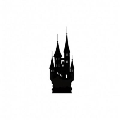 Lavinia - Estampe Miniature «Mini Silhouette Castle»