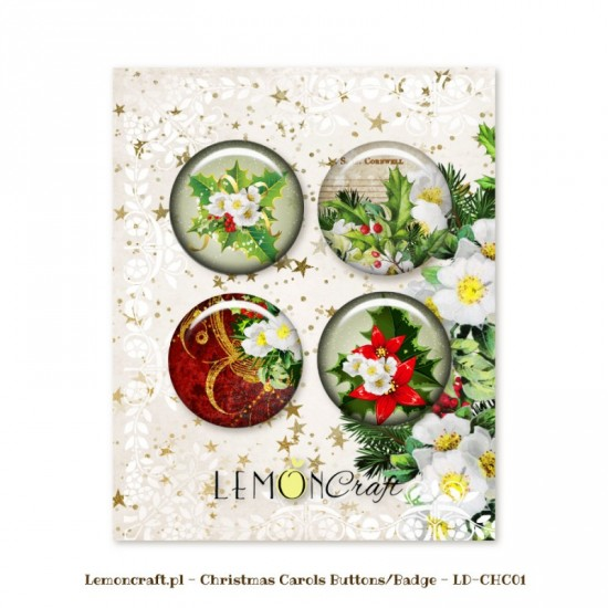 "Lemoncraft - Badges ""Christmas Carols"""