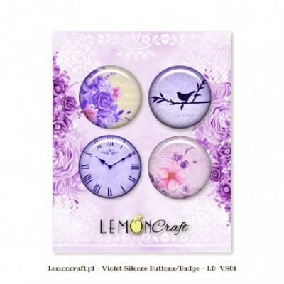"""Lemoncraft - Badges """"Violet Silence"""""""
