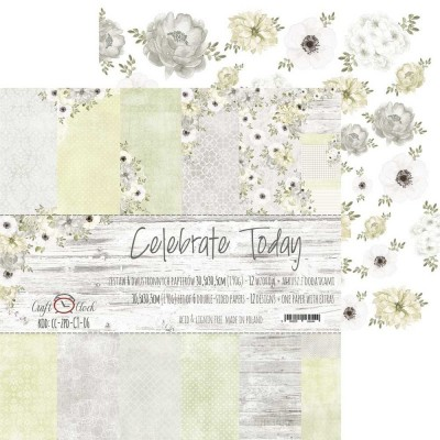 "Lemoncraft - ""Celebrate Today"" ensemble de papier  6 feuilles 12"" X 12"""