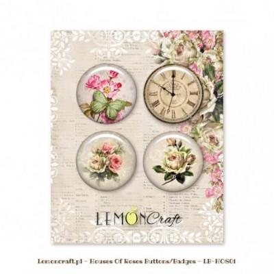 "Lemoncraft - Badges ""House Of Roses"""