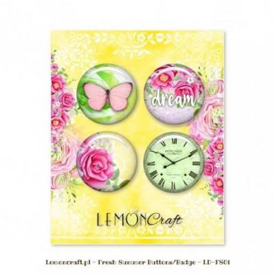 """Lemoncraft - Badges """"Fresh Summer"""""""