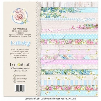 """Lemoncraft - """"Lullaby"""" ensemble de papier  36 feuilles 6"""" X 6"""""""