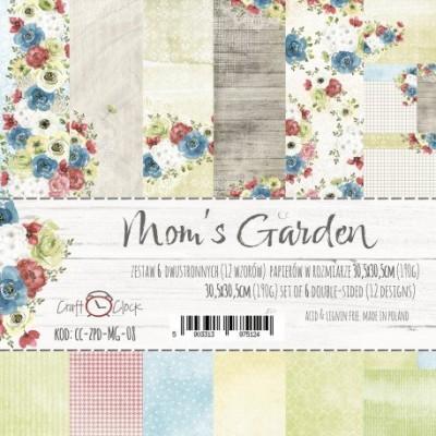 """Lemoncraft - """"Mom's Garden"""" ensemble de papier  6 feuilles 12"""" X 12"""""""