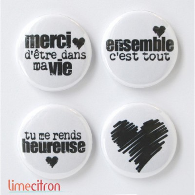 Lime Citron - badge 159 «Ensemble»