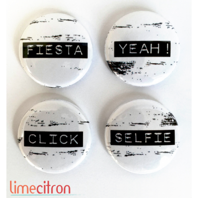 Lime Citron - badge 189 «Fiesta»