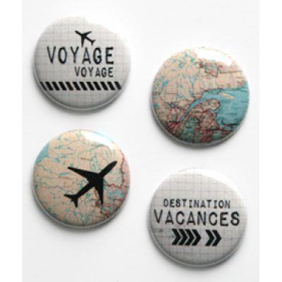 Lime Citron - badge 022 «Voyage»