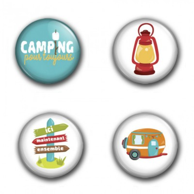 "MC Collection badge ""Camping 03"""