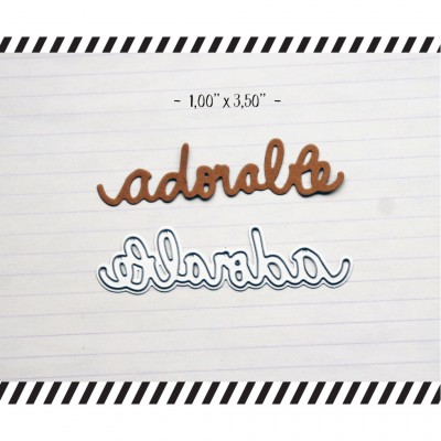 "MC Collection-  Dies ""adorable"""