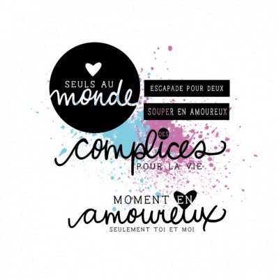 "MC Collection-  Estampes ""En amour"""