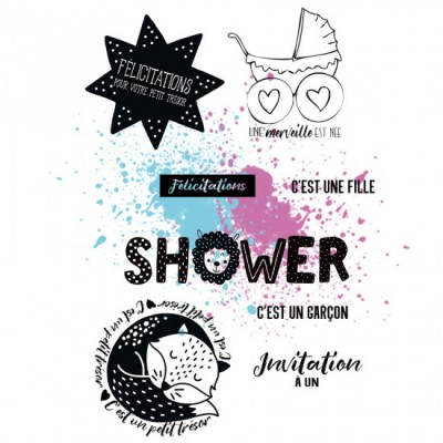 "MC Collection-  Estampes ""BB Shower"""