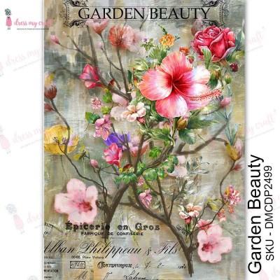 Dress my Craft - Transfer Me «Garden Beauty»