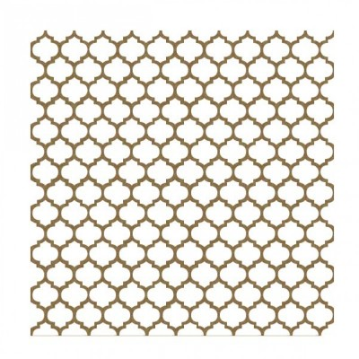 Creative Embellishments - Chipboard «Moroccan Lattice Panel»