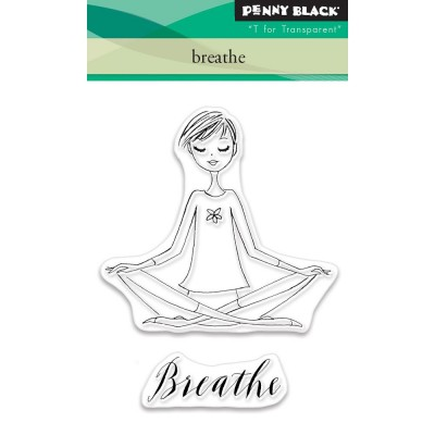 "Penny Black - Estampe ""Breathe"""