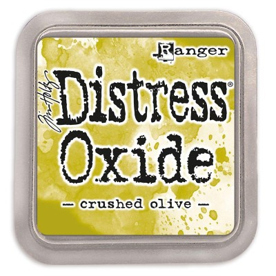 Distress Oxides Ink Pad - Tim Holtz- couleur «Crushed Olive»