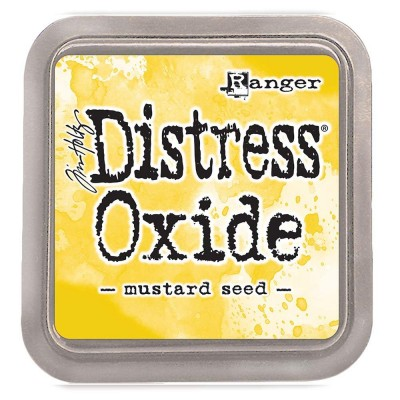 "Distress Oxides Ink Pad - Tim Holtz- couleur ""Mustard Seed"""