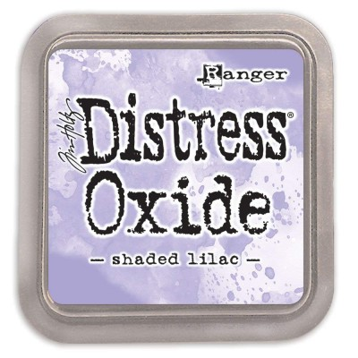 Distress Oxides Ink Pad - Tim Holtz- couleur «Shaded Lilac»