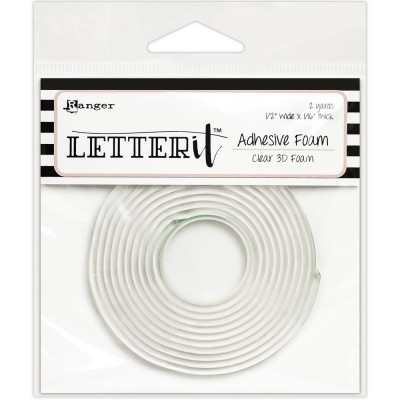 "Letter it - Rouleau «Adhésive Foam» transparent 1/4"" X 6'"