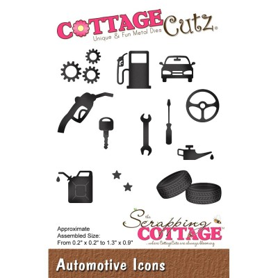 "CottageCutz - Die Modèle ""Automotive Icons"""""