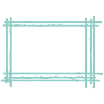 "Kaisercraft - Die modèle ""Sketched Rectangle Frame"""