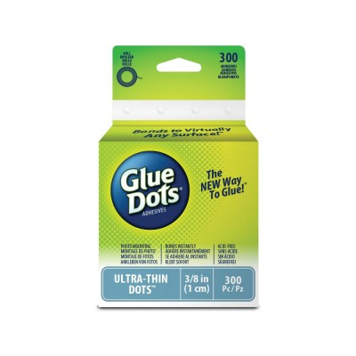 "Glue Dots  Pop Up Dots 3/8""(10 mm) rouleau de 300pcs"