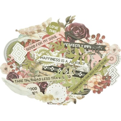 "Cardstock Die-Cuts Collection ""Gypsy Rose"""