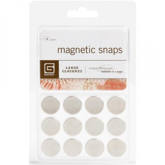 BASIC GREY - Magnet Snaps