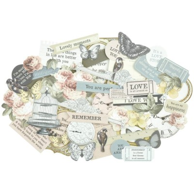Cardstock Die-Cuts Collection Romantique