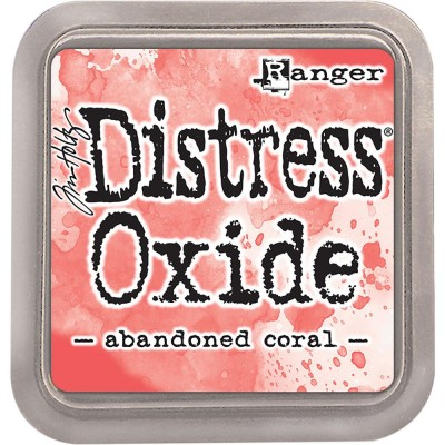 Distress Oxides Ink Pad - Tim Holtz- couleur «Abandoned Coral»