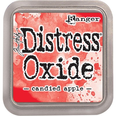Distress Oxide Ink Pad - Tim Holtz - couleur «Candied Apple»