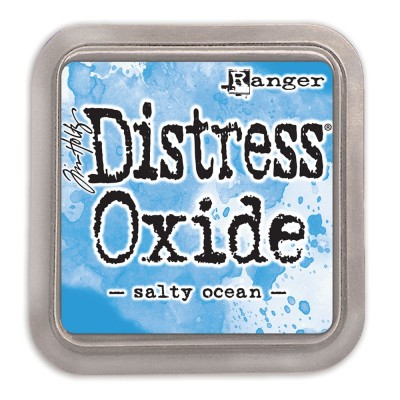 "Distress Oxides Ink Pad - Tim Holtz- couleur ""Salty Ocean"""