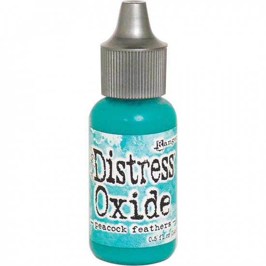 "Distress Oxides Reinkers - Tim Holtz- couleur ""Peacock Feathers"""